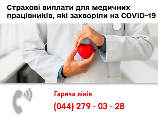 Держпраці запроваджує гарячу лінію для медичних працівників, які захворіли на COVID-19
