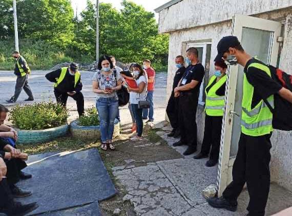 Інспектори праці Управління Держпраці у Миколаївській області зафіксували на робочих місцях 42 особи